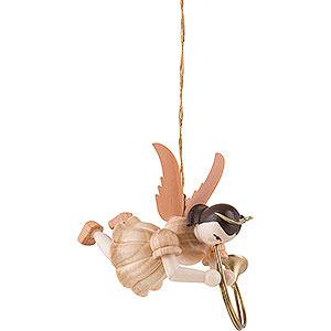 Weihnachtsengel Kurzrockschwebeengel (Blank) Schwebeengel Althorn, natur - 6,6 cm