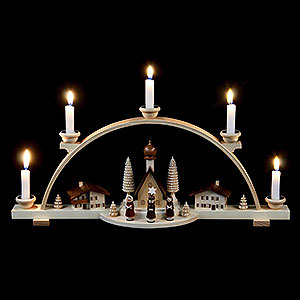 Candle Arches All Candle Arches Schwibbogen Alpine Village - 47 cm / 19 inch