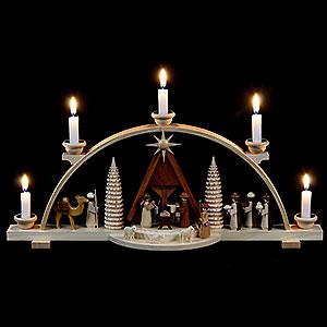 Schwibbögen Alle Schwibbögen Schwibbogen Christi Geburt - 47 cm