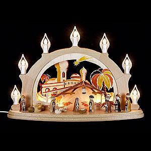 Schwibbögen Alle Schwibbögen Schwibbogen Christi Geburt - 58x39 cm
