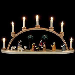 Schwibbögen Alle Schwibbögen Schwibbogen Christi Geburt - 60 cm