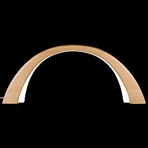 Schwibbögen Alle Schwibbögen Schwibbogen Fichte natur, mit elektrischer Innenbeleuchtung - 55x23,5 cm