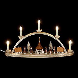 Schwibbögen Alle Schwibbögen Schwibbogen Seiffener Kirche - 50 cm