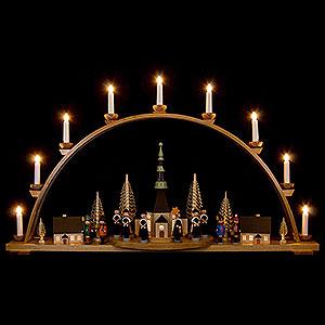 Schwibbögen Mit Innenbeleuchtung Schwibbogen Seiffener Kirche  - 98x57 cm