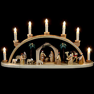 Candle Arches All Candle Arches Schwibbogen - The Crib - 60 cm / 24 inch