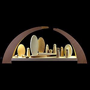 Schwibbögen Alle Schwibbögen Schwibbogen mit Krippenfiguren - 62x25 cm