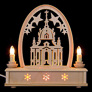 Candle Arches Fret Saw Work Seidel Arch Church of Dresden - 25 cm / 10 inch