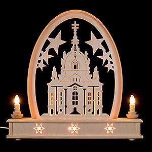 Candle Arches Fret Saw Work Seidel Arch Church of Dresden - 36x31 cm / 14x12 inch