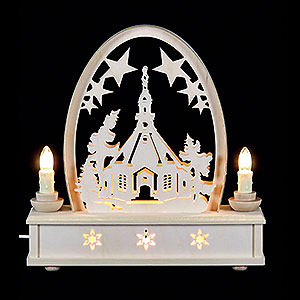 Candle Arches Fret Saw Work Seidel Arch Seiffen Church - 25 cm / 10 inch
