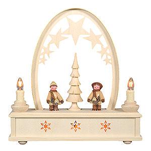 Candle Arches Fret Saw Work Seidel Arch Striezel Children - 25 cm / 10 inch