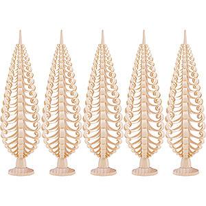 Kleine Figuren & Miniaturen Spanbäume Spanbäume Seiffener Spanbaum 5er Set - 20 cm