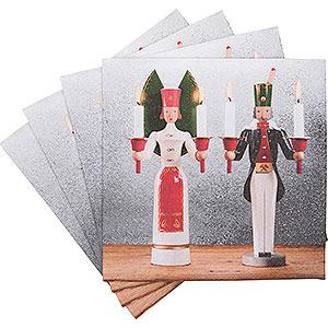 Kleine Figuren & Miniaturen Servietten Servietten