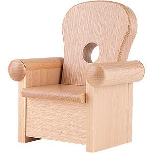 Räuchermänner Kantenhocker von KWO Sessel für Kantenhocker - 16 cm
