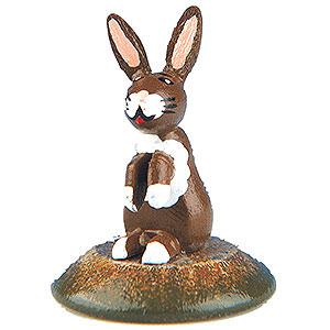 Small Figures & Ornaments Hubrig Flower Kids Set of Six- Little Fear Rabbit - 3 cm / 1 inch