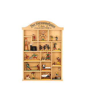 Small Figures & Ornaments Fairytale Figurines Struwwelpeter (Ulbricht) Setting Box for Struwwelpeter Figures - 40x59 cm / 16x23 inch