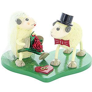 Small Figures & Ornaments Animals Sheep Sheep Bridal Pair