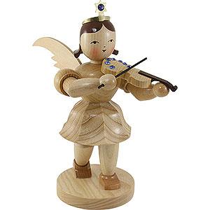 Angels Blank Novelties 2018 Shortskirt Angel Natural with Violin and SWAROVKSI ELEMENTS - 20 cm / 7.8 inch