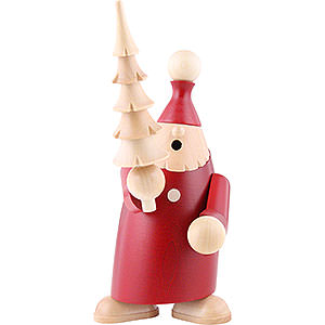 Smokers Santa Claus Smoker - Andy with Tree - 19 cm / 7.5 inch
