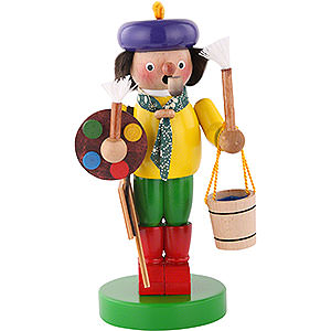 Smokers Professions Smoker - Artist Painter - 25 cm / 10 inch