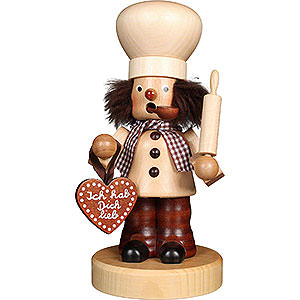 Smokers Professions Smoker - Baker Natural - 21 cm / 8.3 inch