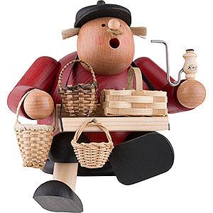 Smokers Professions Smoker - Basket Seller - Shelf Sitter - 15 cm / 6 inch