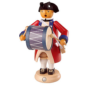 Smokers Professions Smoker - Bass Drummer - Virginia State Garrison Regiment - 24 cm / 9 inch