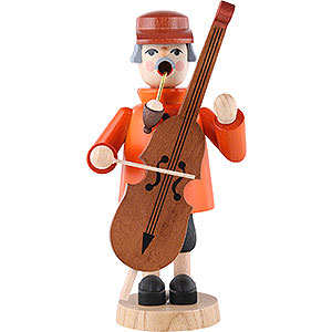 Smokers Professions Smoker - Bass Violin Player - 19 cm / 7 inch
