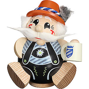 Smokers Hobbies Smoker - Bavarian exclusive - Ball Figur - 12 cm / 4.7 inch