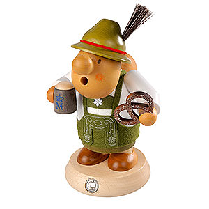 Smokers Hobbies Smoker - Bavarian with Costume - 16 cm / 6 inch