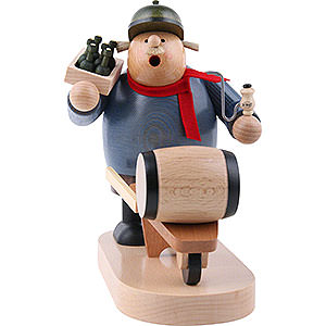 Smokers Professions Smoker - Beer Salesman - 19 cm / 7 inch