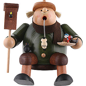 Smokers Hobbies Smoker - Bird Lover - Shelf Sitter - 17 cm / 7 inch