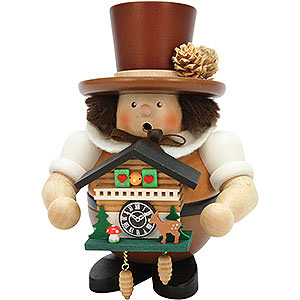 Smokers Misc. Smokers Smoker - Black Forester with Cuckoo Clock Natural - 17,5 cm / 6.8 inch