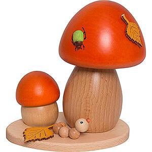 Smokers Misc. Smokers Smoker - Bolete Mushroom - 14 cm / 5.5 inch