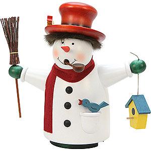 Smokers Snowmen Smoker - Borzel Snowman - 20 cm / 8 inch