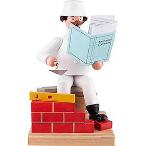 Smokers Professions Smoker - Bricklayer - 21 cm / 8.3 inch