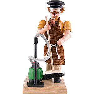 Smokers Professions Smoker - Building Cleaner - 23 cm / 9.1 inch