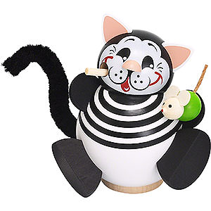 Smokers Animals Smoker - Cat - Ball Figure - 11 cm / 4 inch