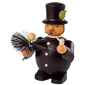 Smokers Professions Smoker - Chimney Sweep - 11 cm / 4 inch