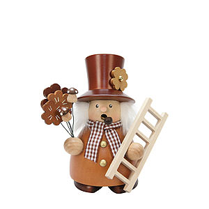 Smokers Professions Smoker - Chimney Sweep Natural - 14,5 cm / 6 inch