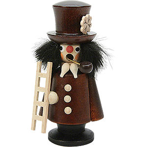 Smokers Professions Smoker - Chimney Sweep Natural Colour - 10,5 cm / 4 inch