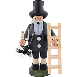 Smokers Professions Smoker - Chimney Sweeper with Ladder - 18 cm / 7 inch