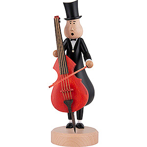Smokers Professions Smoker - Contrabassist Eugen - 29 cm / 11.4 inch
