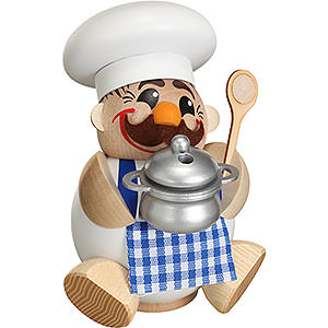 Smokers Professions Smoker - Cook/Chef - Ball Figure - 12 cm / 5 inch