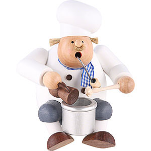 Smokers Professions Smoker - Cook/Chef - Shelf Sitter - 17 cm / 7 inch