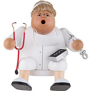 Smokers Professions Smoker - Doctor - Shelf Sitter - 15 cm / 5.9 inch