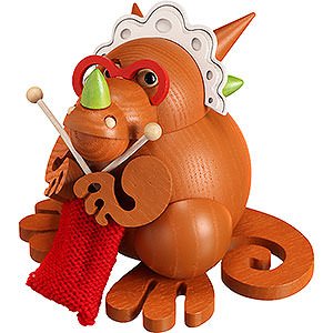 Smokers Animals Smoker - Dragon Grandmother - Ball Figure - 10 cm / 3.9 inch