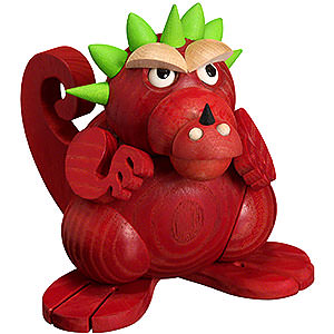 Smokers Animals Smoker - Dragon Teenager - Ball Figure - 11 cm / 4 inch