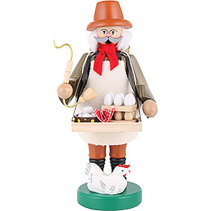 Smokers Professions Smoker - Egg Salesman - 22 cm / 9 inch