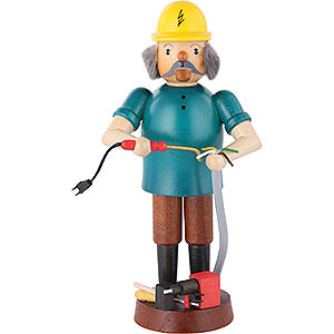 Smokers Professions Smoker - Electrician - 17 cm / 7 inch