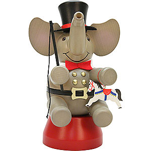 Smokers Animals Smoker - Elephant Ringmaster - 22 cm / 8.7 inch